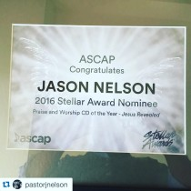 Jason Nelson Nominated for Stellar Award